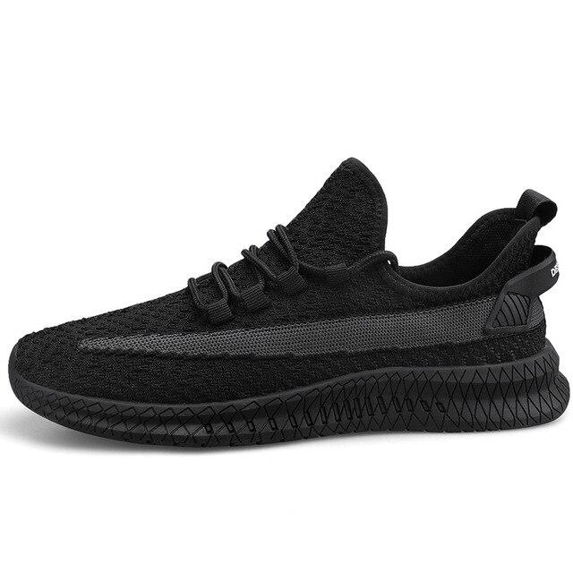 2020 primavera novos homens sapatos casuais lac-up sapatos masculinos leve confortável respirável tênis de caminhada
