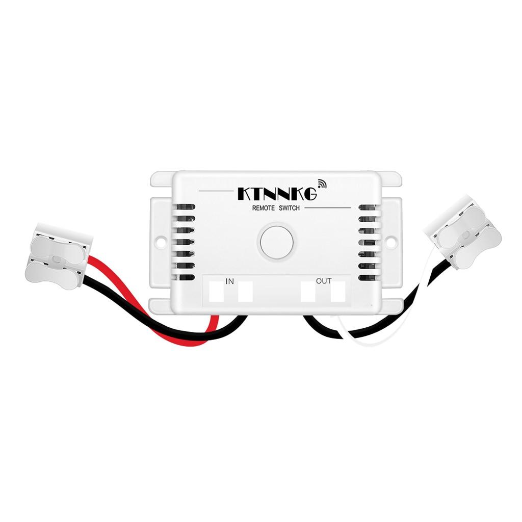 AC90V-250V Fernbedienung Schalter 433MHz Empfänger Hause Elektrische Schalter Für Lichter