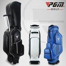 PGM Выдвижная сумка для гольфа водонепроницаемая кожаная стандартная сумка для гольфа большая емкость дорожная упаковка с колесами патент разработан