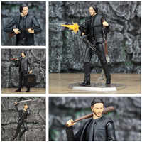 """NEW Movie John Wick Keanu Reeves 1/12 1:12 6"""" Action Figure KO's Mafex NO.070 NO.085 2 Chapter 2 Toys Doll"""