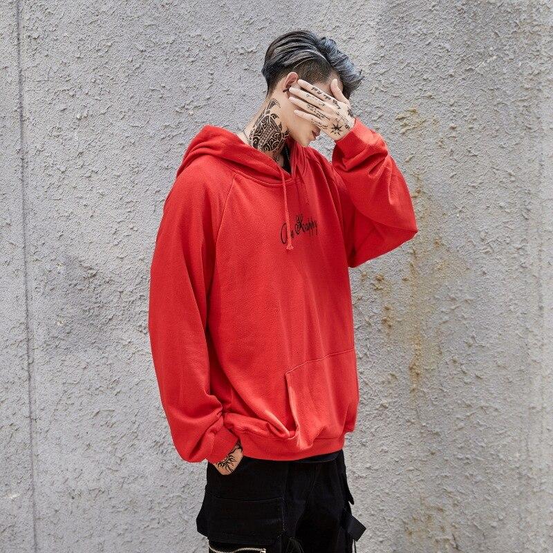 Hoodies Sweatshirts Men Color Block Black White Patchwork Smile Print Male Hoodie Hip Hop Streetwear Men Clothes 2018 Hoodie