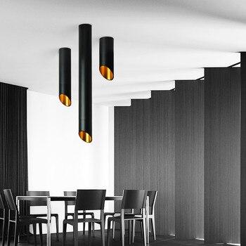 الصمام سقف الخيالة سقف النازل 7W الحبل مصابيح مطبخ شركة الجدول الأنابيب أنبوب مصباح غرفة الطعام بار مكافحة متجر بقعة ضوء 1
