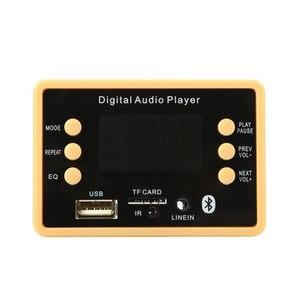 Image 4 - Bluetooth 5.0 MP3 デコーダのデコードボードモジュール 5 v 12v 車の Usb MP3 プレーヤー WMA WAV TF カードスロット /USB/FM リモートボードモジュール