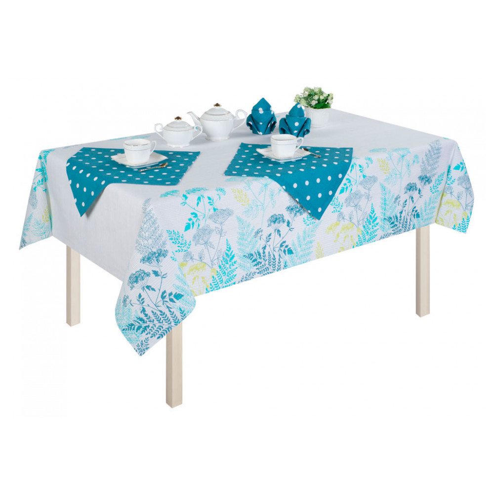 цена Home & Garden Home Textile Table Cloth Guten Morgen 243056 онлайн в 2017 году