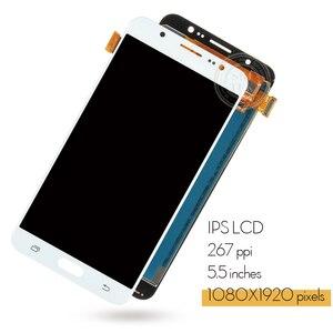 Image 2 - شاشة عرض 5.5 بوصة لهاتف سامسونج جلاكسي J7 2016 J710 J710F J710M J710H J710FN شاشة عرض LCD رقمية تعمل باللمس لسامسونج j7 2016 lcd