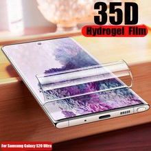 35D Front Back Sticker Hydrogel Soft TPU Film For Samsung Galaxy S20 Ultra Screen Protector Galaxy Note 10 S20 Plus S20 Ultra-in Phone Screen Protectors from Cellphones & Telecommunications on AliExpress