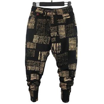 Pantalon Élastique imprimé Hip Hop Hommes