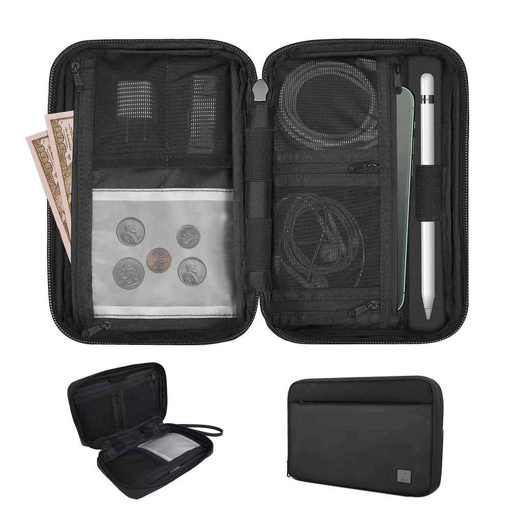 Power Bank Pouch Storage Bag Mini Protable Travel Protective Carrying Case Pack