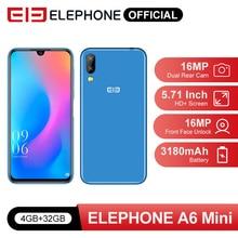 Elephone A6 Mini 4GB 32GB Smartphone 5.71 Inch waterdrop Screen Mobile