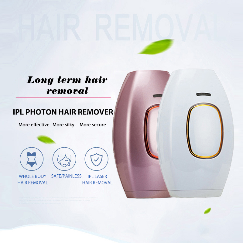 Home Use Depilatory Laser Mini Hair Epilator Permanent Hair Removal IPL System 300000 Shot Light Pulses Whole Body Hair Remover