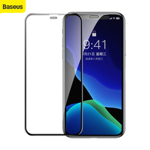 Baseus Full Coverage Tempered Glass For iPhone Xs Xs Max XR Screen Protector Thin Protective Glass Front Film Cover 0.3mm