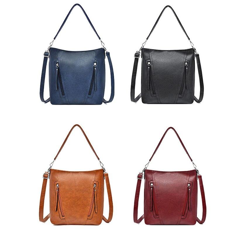 Luxury Brand Women Handbag Ladies Top Handle Totes Shoulder Bag Female Casual Tote Shopping Sac Big Travelling Bag in Shoulder Bags from Luggage Bags