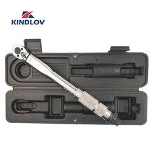 KINDLOV แรงบิดประแจ 5 25NM 2 way ประแจปรับ Universal Ratchet 1/4 ชุด Spanner Multifunctional Repair Key เครื่องมือ