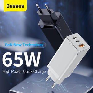 Baseus Usb-Charger Max-Support SCP iPhone 11 Fast Plus Samsung S10 Quick Qc-3.0 65W