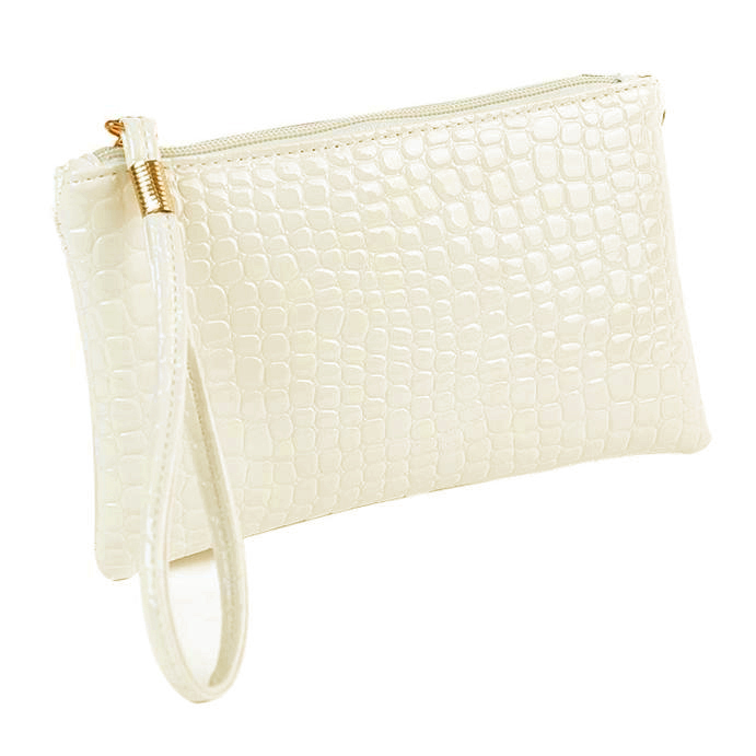 Heab6bd0f8ec64d33b4d61a7d62f8a0168 - Women Coin Purse small wallet Crocodile Leather