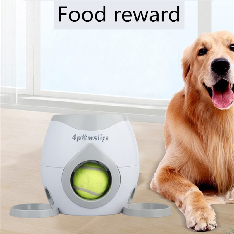 Home Pastime Interactive Toy Tennis Launcher Dog Toy Training Pet Supplies Throwing Machine Pet Ball Throw Device with Ball