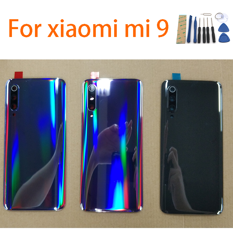 Back glass Cover For XIAOMI MI 9 , Back Door Replacement Hard Battery Case, Rear Housing Cover Mobile Phone Housings & Frames    - AliExpress
