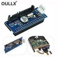 OULLX SATA IDE Adapter 40 Pin IDE zu SATA Stecker 3 5 HDD IDE/PATA Festplatte Adapter Konverter Mit 7Pin SATA Daten Kabel-in Computerkabel & Stecker aus Computer und Büro bei