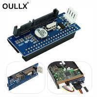 OULLX SATA Adattatore IDE 40 Spille IDE a SATA Connettore 3.5 HDD IDE/PATA Hard Disk Adapter Converter Con 7 Spille-SATA Cavo Dati