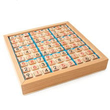 Wooden Sudoku Chess Game Toy Chess Puzzle Adult Logic Thinking Desktop Intelligence Challenge Party Entertaiment Game цена и фото