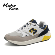 Size 36-47 Unisex Couple Platform Shoes Men Anti-slippery Sneakers Women Running Sports Shoes Ladies Breathable Casual Sneakers li ning men running shoes ez run anti slippery sports shoes light lining breathable sneakers arbm053 xyp586