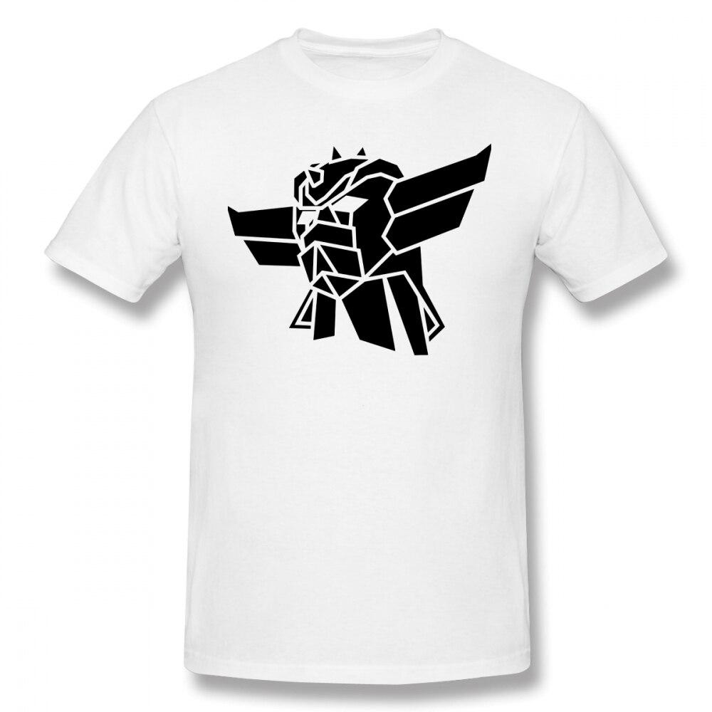Goldorak T Shirt Goldorak T-Shirt Awesome Short-Sleeve Tee Shirt Man 3xl Printed Basic 100% Cotton Tshirt