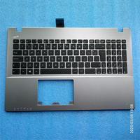 Novo teclado do portátil para a550l x550l k550l f550l y581l w518l palmrest capa + bezel teclado