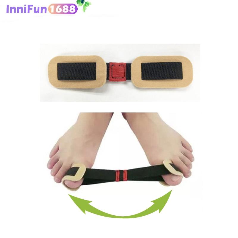 1Pcs Maca Hálux Valgo Dedão do pé Joanete Splint Corrector Foot Care Tools Ajustador de Ortopedia Polegar Osso Formação Pedicure