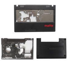 Передняя крышка для ноутбука Lenovo G500, G505, G510, G590, Черная задняя крышка для ноутбука