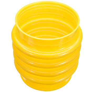цена на 1pc New Jumping Jack Bellows Boot Durable Rammer Bellow Tamper17.5cm Dia. For Wacker Rammer Compactor Tamper Yellow