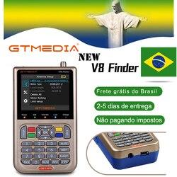 V8 Finder Meter SatFinder Digitale Satellite Finder DVB S/S2/S2X HD 1080P Recettore Ricevitore di Segnale TV sat Decoder Location Finder