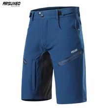 Мужские велосипедные шорты ARSUXEO 2020, свободные шорты для горного велосипеда, уличные спортивные шорты для горного велосипеда и походов, короткие брюки 2006