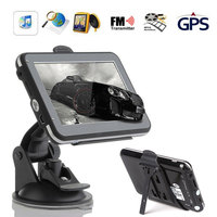 GPS Navigator Car Navigator Portable Vehicle GPS Navigator Sensors Map MP3 FM Multifunctional