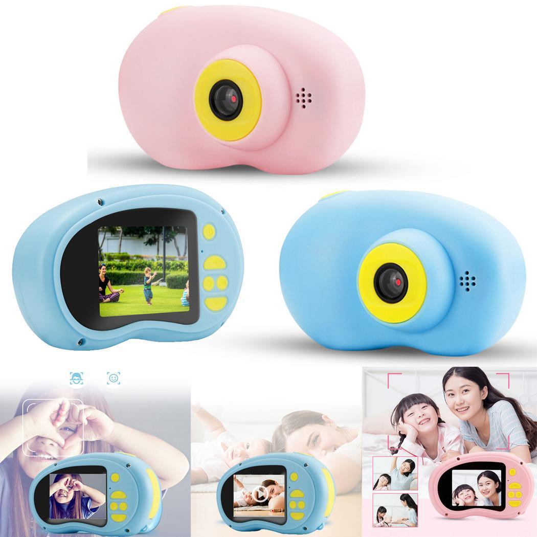 Children Mini Cute Animal Color Screen 32G HD 2.0inch Digital 600mAh Memory Camera Cable Charging 2-3 Hours