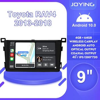Autoradio 2 Din Android 10 Car Radio Stereo Auto Head Unit GPS Multimedia DVD Player Carplay DVR For TOYOTA RAV4 RAV 4 2013 2018 image