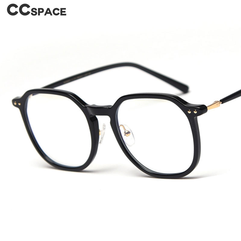 47342 Square Anti-blue Light Glasses Frames Men Women Optical Fashion Computer Glasses