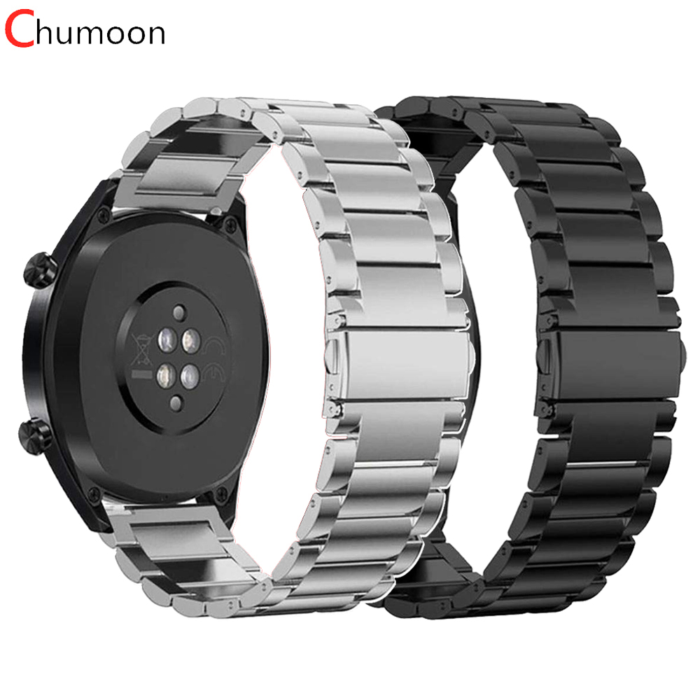 Strap For Samsung Galaxy Watch 46mm Active Huawei Watch GT 2 Strap 20 22mm Watch Band Stainless Steel Bracelet Gear S3 Frontier