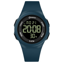 Waterproof Kids Watches LED Digital Children Wrist Watch for Girls Boys Fashion Simple Silicone Sport Blue Child Clock Gift New