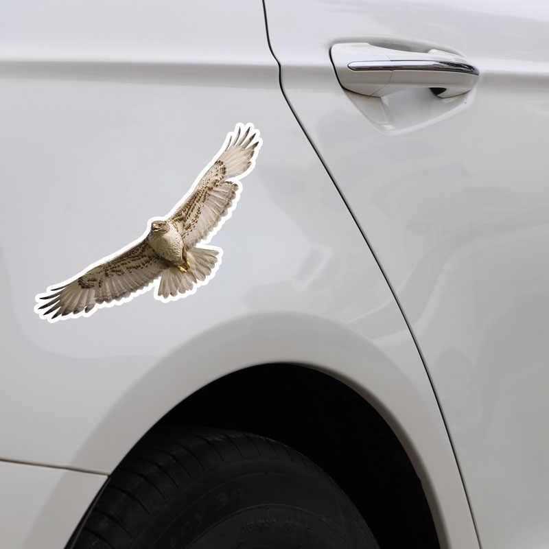 Aliauto 防水車のステッカー高品質動物鳥イーグル PVC ため Lada 起亜マツダマツダ 3 スバルゴルフ 4 VW 、 17 センチメートル * 6 センチメートル