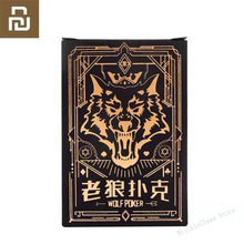 Youpin Wolf Playing Cards Poker Board Game Werewolf Game Playing Cards Waterproof Cards 3 10 People Party Gathering Game Cards