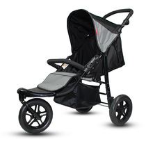 цена на Luxury Stroller Aluminum Alloy Frame Trike Jogging Baby Stroller 3 Wheel Kids Carriage Folding Pram Large Seat Tricycle Car