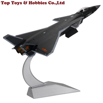 1/48 Scale Diecast J-20 Aircraft Model Stealth Airplane Fighter Model Camouflage Service Toy Collectible недорого