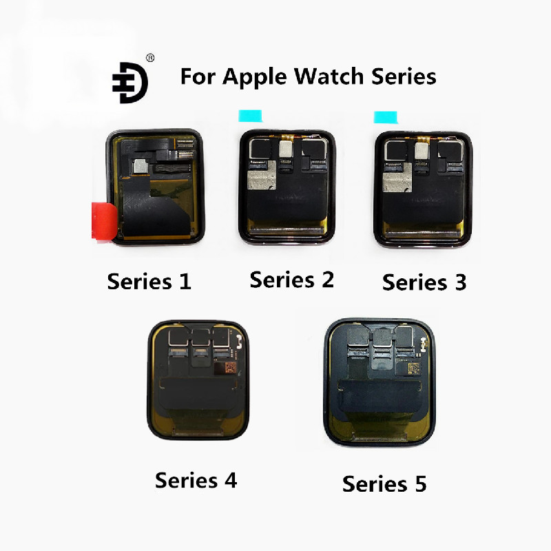 Original For Apple Watch Series 4/5 40mm 44mm LCD Display Touch Screen Digitizer For Apple Watch Series 1/2/3 38mm42mmLCD Screen image