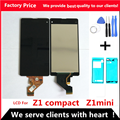 Display Für SONY Xperia Z1 compact LCD Touch Screen Digitizer Für SONY Xperia Z1mini LCD D5502 D5503 M51W Touch Display
