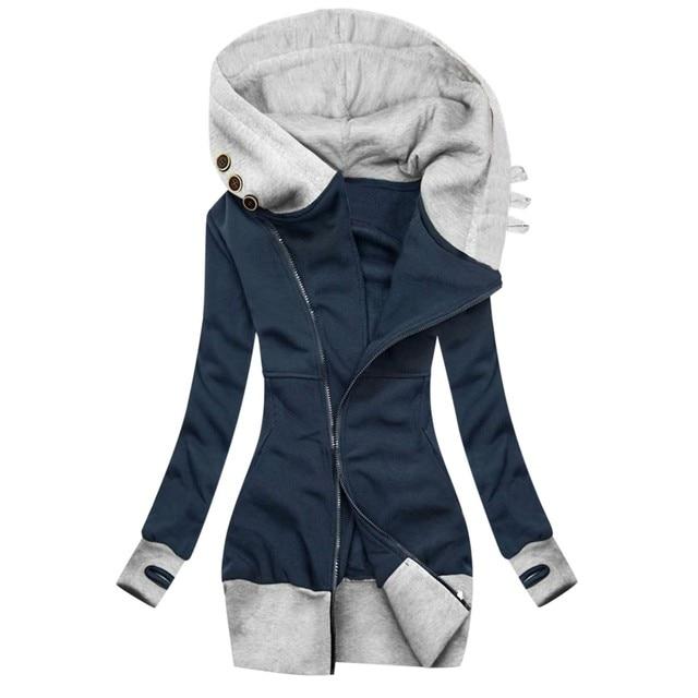 2020 Hot Sale New Design Styele Casual Clothing Sweatwear Sweet Sexy Fashion Soft Good Fabric Women Jackets 4