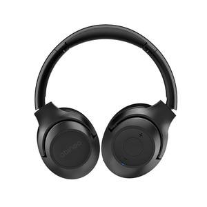 Image 4 - Шумоподавляющие наушники ZOHAN BT30NC с активным шумоподавлением, беспроводные наушники с микрофоном, стереонаушники с басами и Bluetooth, Накладные наушники