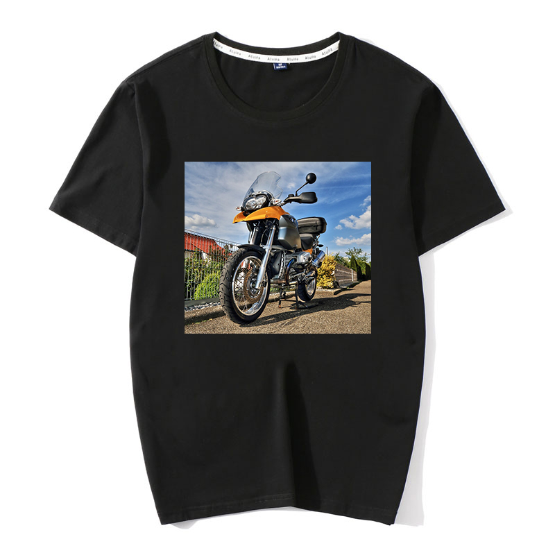 <font><b>BMW</b></font> 1200 GS <font><b>T</b></font>-<font><b>SHIRT</b></font> Fashion New Men Top <font><b>T</b></font> <font><b>shirts</b></font> Custom Print <font><b>T</b></font> <font><b>Shirt</b></font> <font><b>Motorrad</b></font> motorcycles 100% cootton Streetwear Men Clothes image
