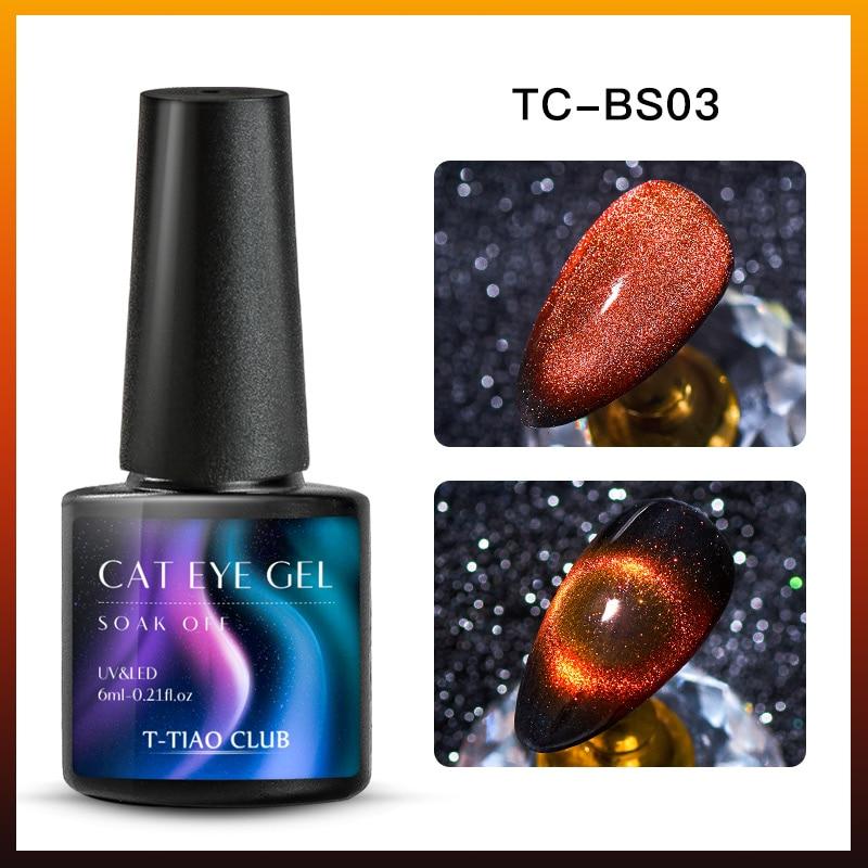 9D Гель-лак для ногтей с эффектом «кошачий глаз» лак Хамелеон звёздный Небесный Сияющий Магнитный Гель-лак для ногтей Магнитный замачиваемый УФ-гель лак черная основа - Color: DS08984