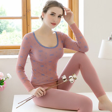 Cơ Thể mới Nhiệt Bộ Đồ Lót Pyjamas Nữ Giảm Béo Dạ Nỉ Mỏng Phần Mềm Pijama Quần Dài Đáy Quần Lót Pyjama Set