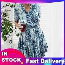 Dress Robe Short-Sleeve V-Neck Snake Above-Knee Print Roupas Sexy Mini Femme Woman Summer
